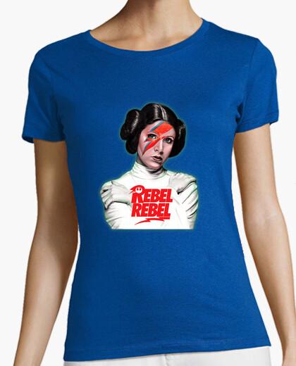 Camiseta Bowie Rebel Leia