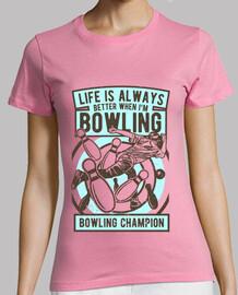 bowling - femme