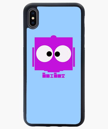 Coque iPhone XS Max boxbot-violett