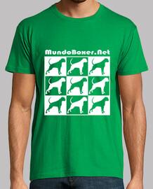 Boxer blaco two 3 x 3