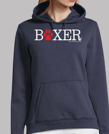 Boxer huella - blanco