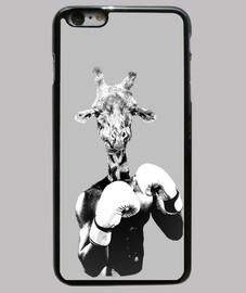 boxing giraffe