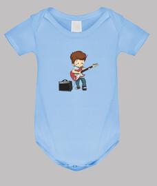 boy jouer de la guitare