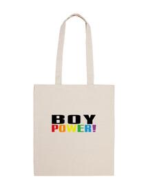 Boy Power! arcoiris bolsa