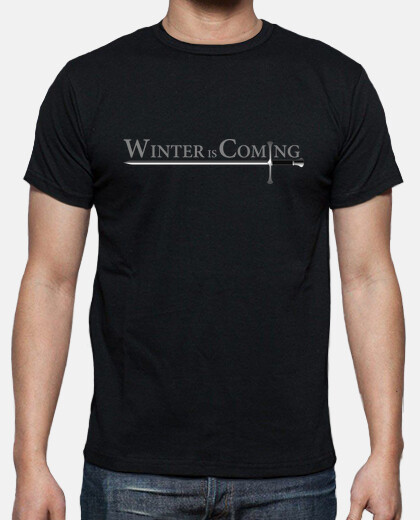 boy shirt winter is coming-needle (game of thrones