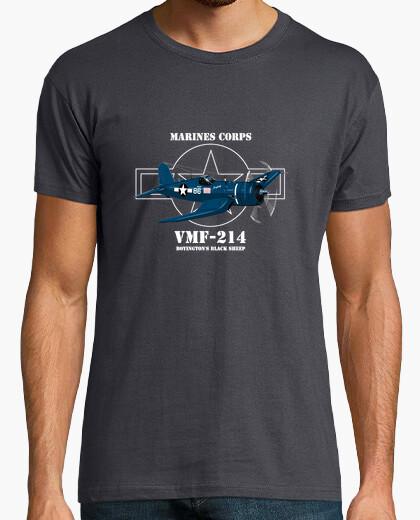 Camiseta boyingtons ovejas negro