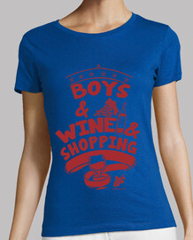 boys & wine & shopping girl