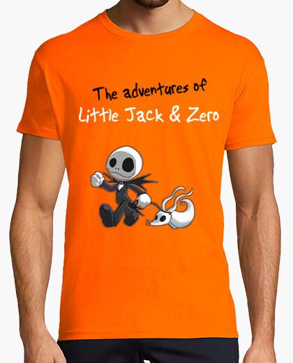 Camiseta Boys Little Jack & Zero