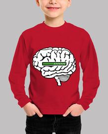 brain loading kid t-shirt