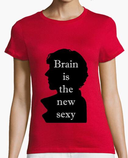 Camiseta Brain sexy M