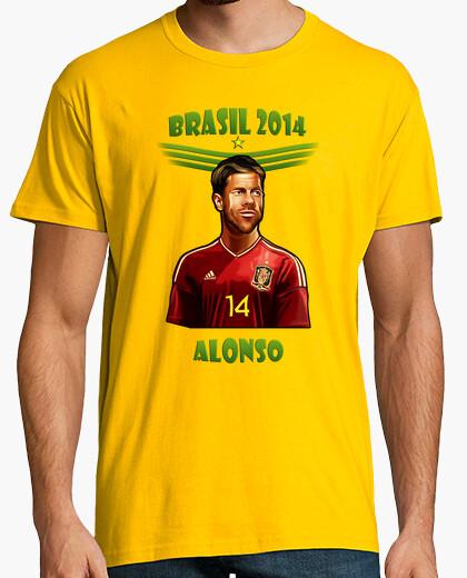 Camiseta Brasil 2014 Xabi Alonso
