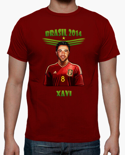 Camiseta Brasil 2014 Xavi Hernández