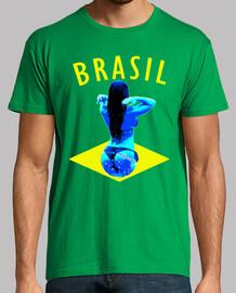 brasil drapeau de bikini