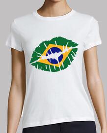brasil labios del beso