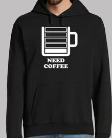 brauche Kaffee