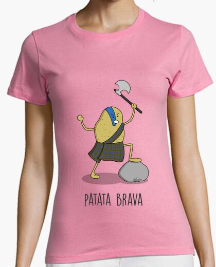 T-Shirt brava kartoffeln