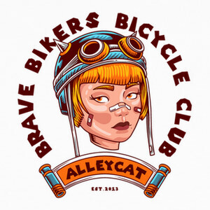 Brave Bikers Alleycat T-shirts