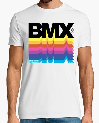 Brave bikers bmx black t-shirt