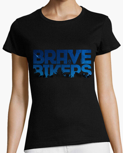 Camiseta Brave Bikers Night Woman