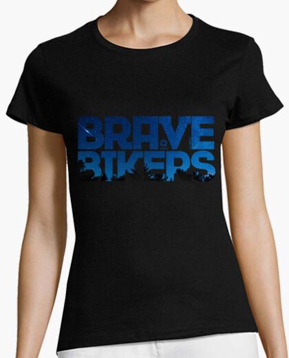 Camiseta Brave Bikers Night Woman