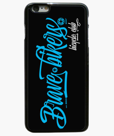 Funda iPhone 6 Plus Brave Bikers Script