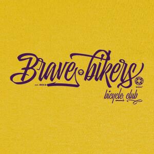 T-shirt Brave Bikers Script
