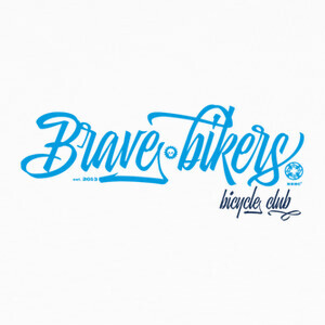 Camisetas Brave Bikers Script