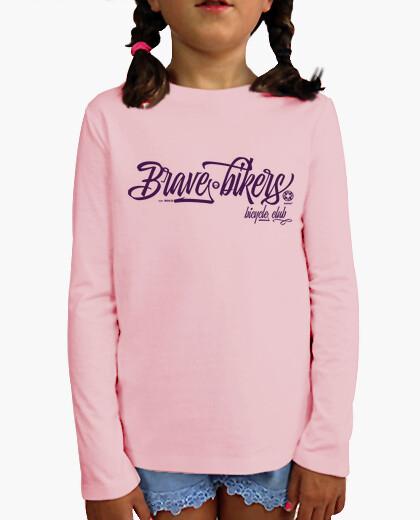 Ropa infantil Brave Bikers Script pink