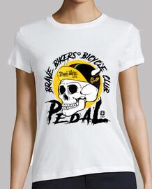 Brave Bikers Skull Black