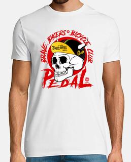 Brave Bikers Skull Red