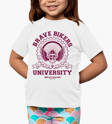 Abbigliamento bambino brave bikers university