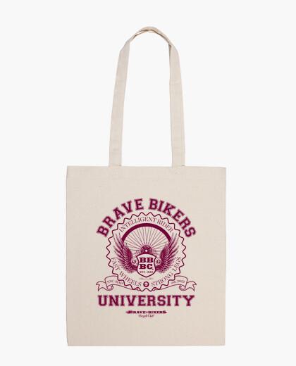 Bolsa Brave Bikers University