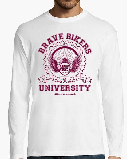 Camiseta Brave Bikers University