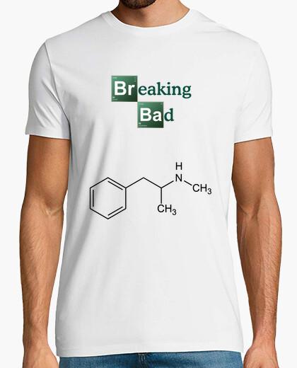 Camiseta Breaking Bad - Estructura metanfetamina