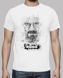 breaking bad - splattered heisenberg