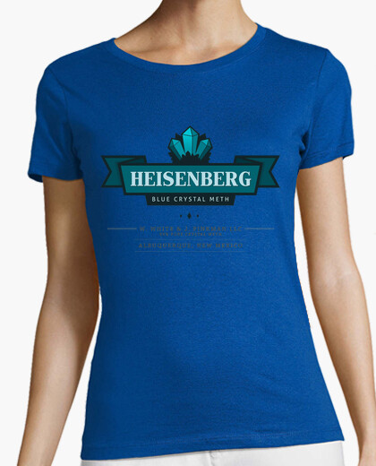 Camiseta BREAKING BAD blue crystal meth