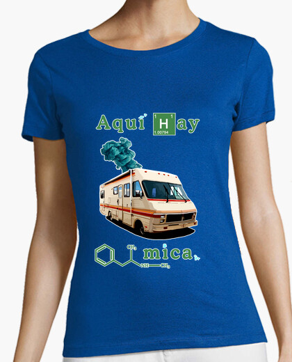 Camiseta Breaking bad (chica)