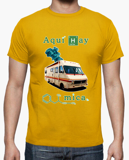 Camiseta Breaking bad (chico)