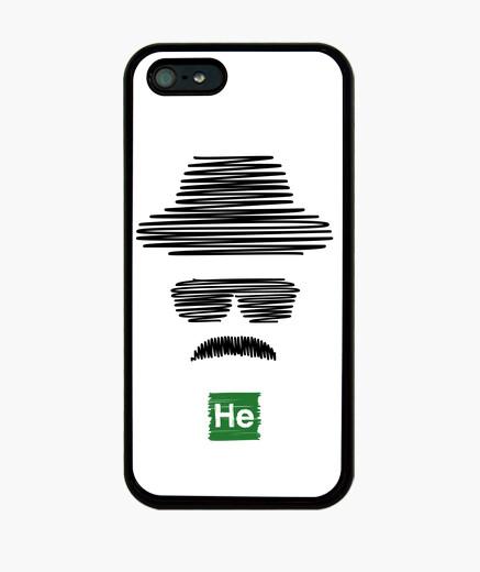 Breaking bad heisenberg (black) iphone cases