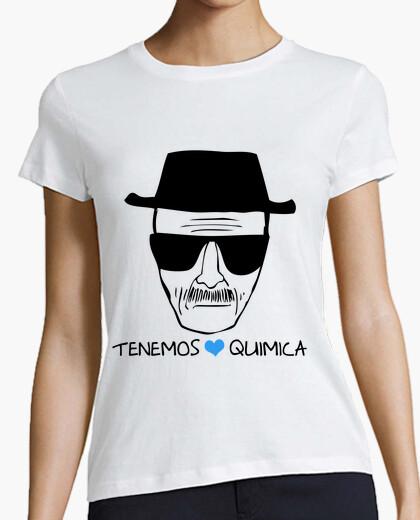 Camiseta Breaking Bad Heisenberg Quimica