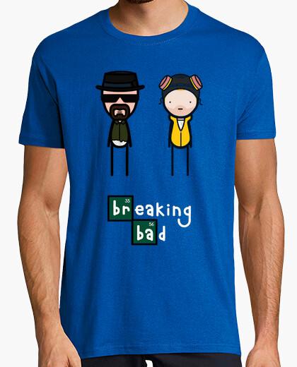 Camiseta Breaking Bad, muñequitos