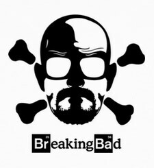 Camisetas Breaking Bad skull