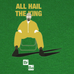 Camisetas BREAKING BAD the king