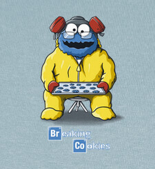 Camisetas Breaking Cookies