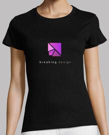 Breaking design logo