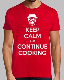 breaking male keep calm