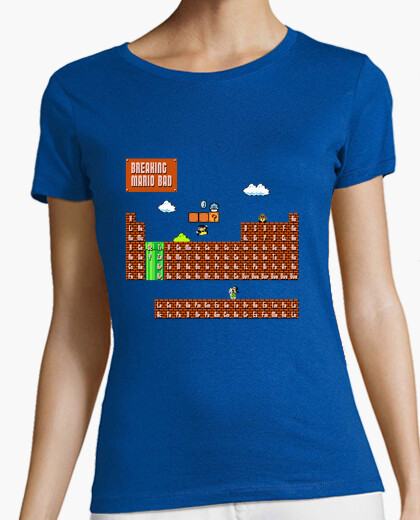 Camiseta Breaking mario bad (chica)