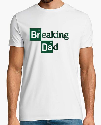 T-shirt breaking patate del dad , anche testo bianco disponibile,