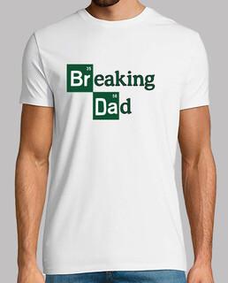 breaking patate del dad , anche testo bianco disponibile,