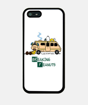 Breaking Peanuts cover iphone